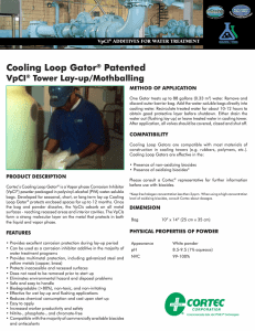 Cooling Loop Gator PDS
