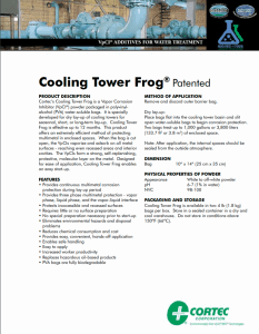 Cooling Tower Frog pdf
