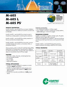 M-605 PDS