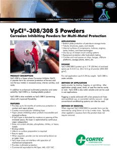 VpCI-308 PDS