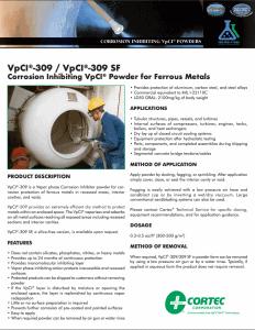 VpCI-309 PDS