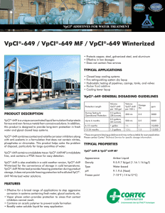 VpCI-649 PDS